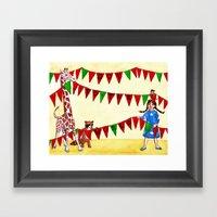Joy To The World Framed Art Print