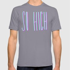 So High Mens Fitted Tee Slate SMALL