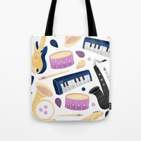 Band Practice Tote Bag