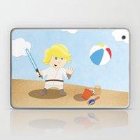 SW Kids - Luke at the Beach Laptop & iPad Skin