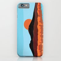 Landscape of Naples with volcano Vesuvio iPhone 6 Slim Case