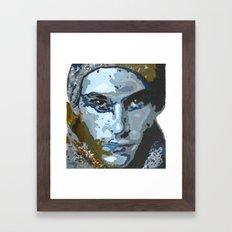 Man Framed Art Print