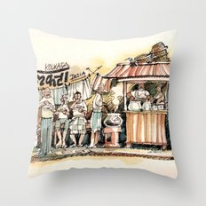 Kolkata Series 2 Throw Pillow