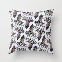 Street ∫ Animal Surrea… Throw Pillow