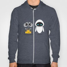 Wall-E And Eve Hoody