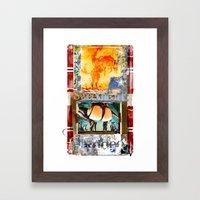SWEETHEART OF THE RODEO … Framed Art Print