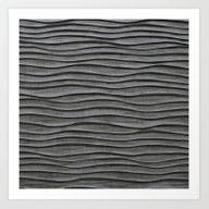 Black Waves Art Print