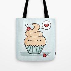 Cupcake in love Tote Bag