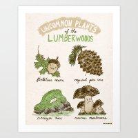 Uncommon Plants Of The L… Art Print