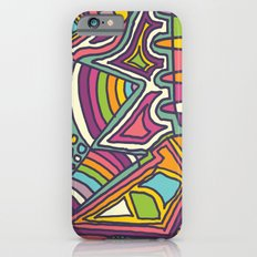 Colourful Chaos Slim Case iPhone 6s