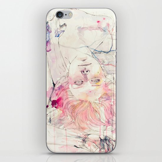 in bloom, each growing petal is an internal wound iPhone & iPod Skin