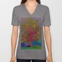 Color Tree Unisex V-Neck