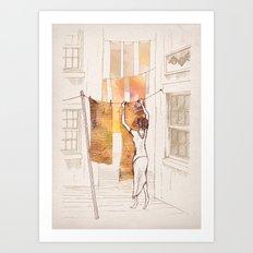 Bea Art Print