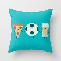 Dream Team Throw Pillow
