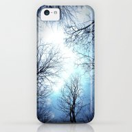 Black Trees Blue Sky iPhone 5c Slim Case