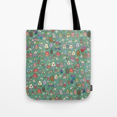 Houses - eco Tote Bag