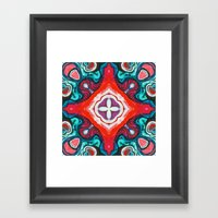 Red III Framed Art Print