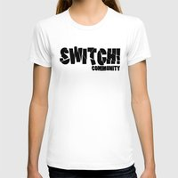 community T-shirts featuring Switch! Community by Nikki Xiao