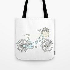 Summer Bicycle Tote Bag