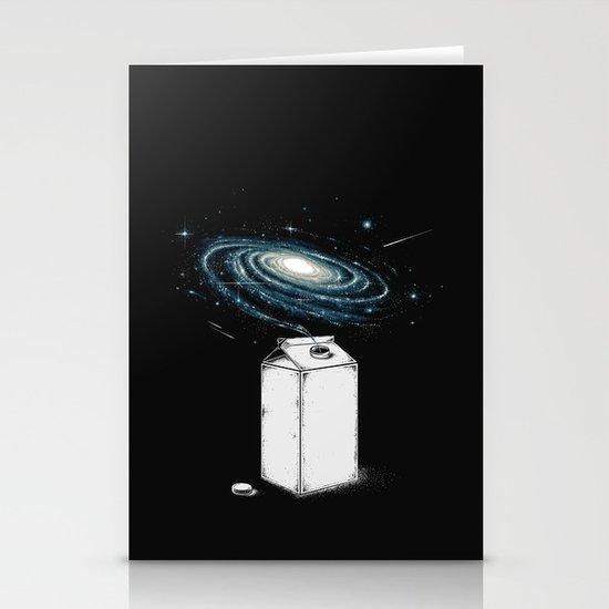 Milky Galaxy Stationery Card