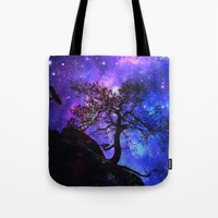Into  The Space Tote Bag