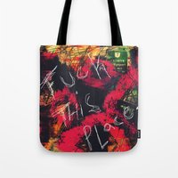 Fuck This Place...(Sometimes Home Dies) Tote Bag