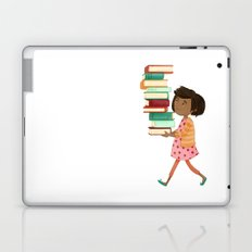 Library Girl 4 Laptop & iPad Skin