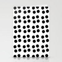 Copijn Black & White Dot… Stationery Cards