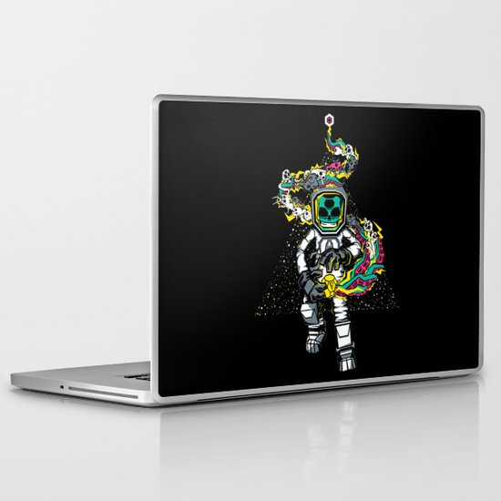 Space Madness! Laptop & iPad Skin