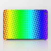 RAINBOW COLOR DOT iPad Case