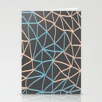 Non-linear Points Stationery Cards
