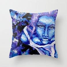 Friedoline by carographic Throw Pillow