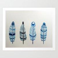 The Four Siblings Of Mot… Art Print