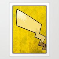 Pikachu - Pokemon Poster Art Print