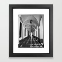 Cadiz Framed Art Print