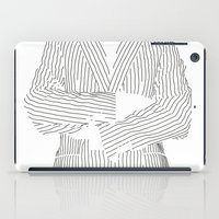 Striped iPad Case