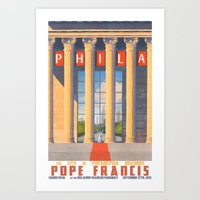 Philadelphia Welcomes Po… Art Print