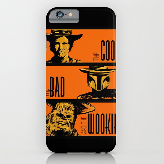 The Good, the bad and the wookiee iPhone & iPod Case