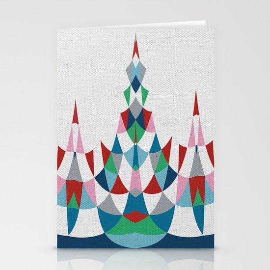 Modern Day #4 Stationery Card