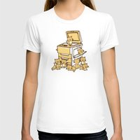 cats T-shirts featuring The Original Copycat by Picomodi