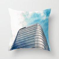 Big Building Throw Pillow
