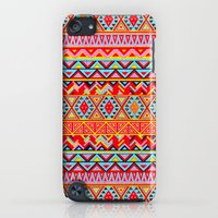 iPod Touch Cases featuring India Style Pattern (Multicolor) by Diego Tirigall