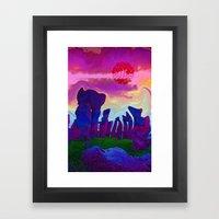 Stonehenge Framed Art Print