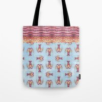 lobster pattern Tote Bag