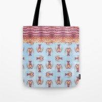 Lobster Pattern Tote Bag