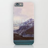 iPhone & iPod Case featuring Escape x Alaska by Leah Flores