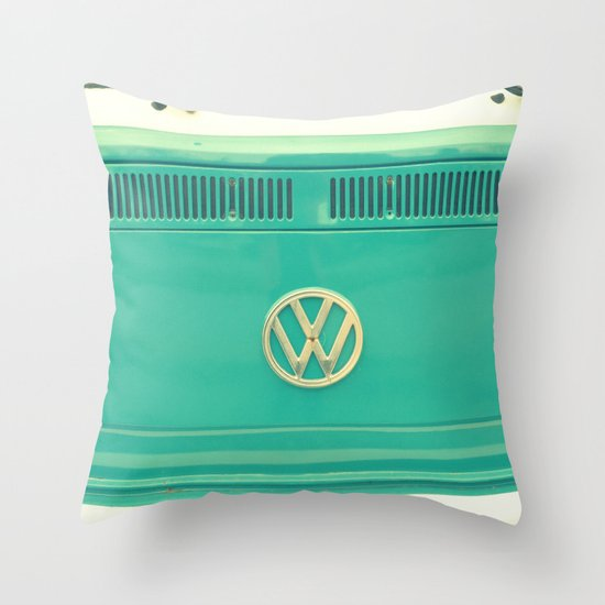 Groovy VW Throw Pillow