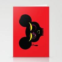 rat poison Stationery Cards