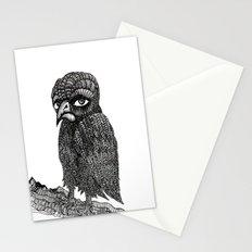 Morbid bird Stationery Cards