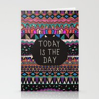 Today is the Day  Stationery Cards